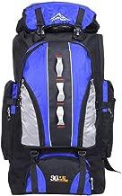 Mochila Impermeable para Escalada, 100 L, para Deportes al Aire Libre, Viajes, Camping, Senderismo, para Mujer, Color Azul, tamaño Talla única