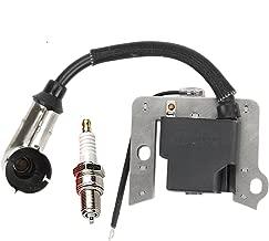 Panari 951-10367 Ignition Coil Spark Plug for MTD Troy Bilt 751-10367 CC10M CC500 Lawn Mower IP65 Series Engine