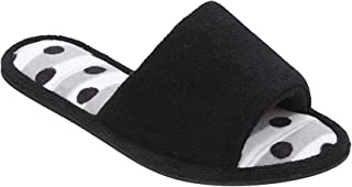 Women's Slide Scuff Slippers Memory Foam