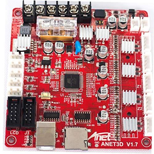 12V 24V 3D Printer Mainboard Motherboard LCD V1.7 Control Board with USB Port