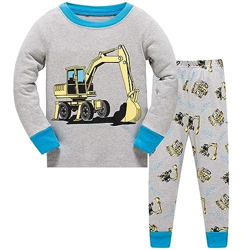TEDD Boys Pyjamas Dinosaur Nightwear Cotton Toddler Clothes Kids Sleepwear  Winter Long Sleeve Christmas Pjs Sets 7215a457739
