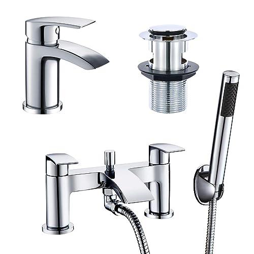 Bathroom Tap Sets Amazon Co Uk