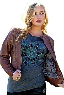 Cruel Womens Vegan Leather Jacket Snakeskin