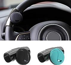 Nero Nero Matedepreso Volante Aiutante Pomello Salva Effort Auto Alimentazione Sfera Universale Girevole Maniglia Auto Accessori Sicuro Guida Diminuire Frecce Raggio