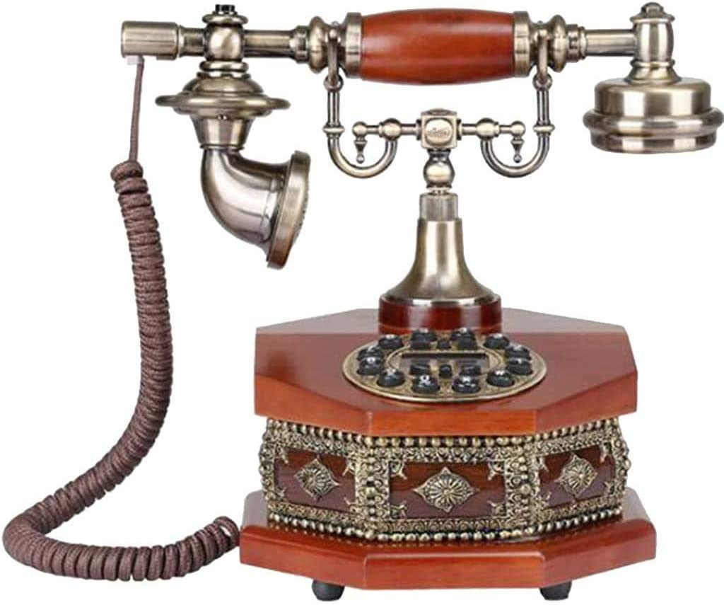 Import SXRDZ Retro Phone Vintage Sales of SALE items from new works Fixed Button Telephone Dial