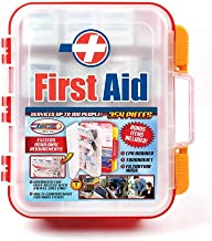 Rapid Care First Aid RC-BLMD-354 354 Piece ANSI/OSHA Compliant Emergency First Aid Kit, Wall Mountable, Multi Compartment ...