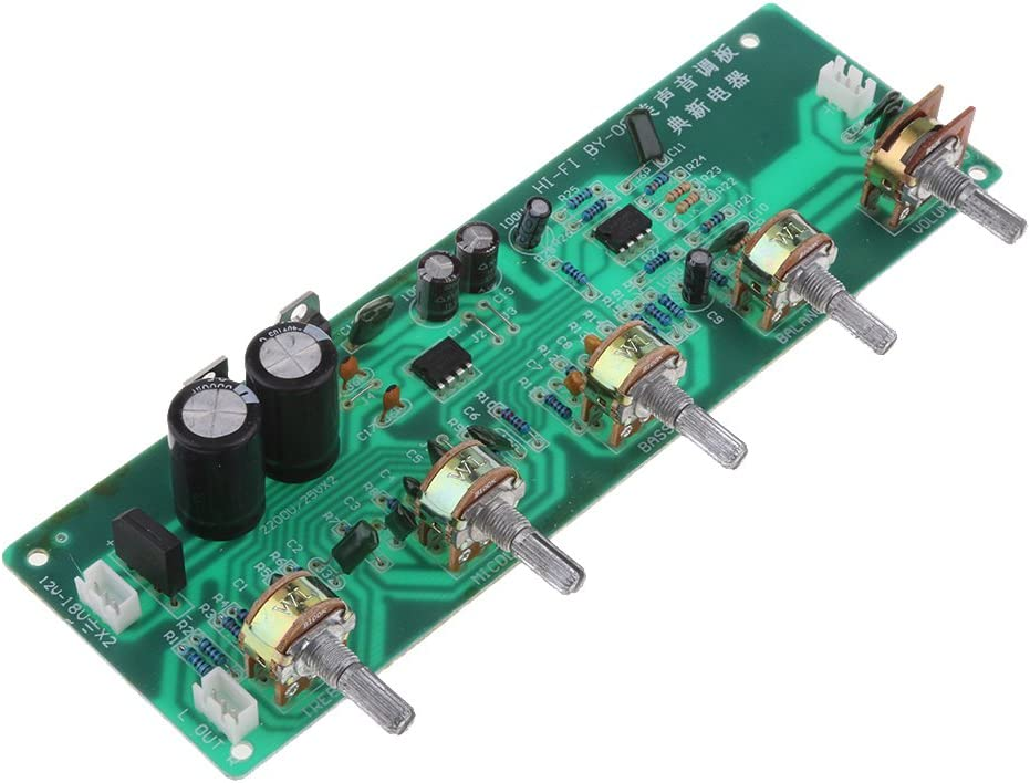 BY08 Stereo Spasm Outlet ☆ Free Shipping price Audio Power Amplifier Volume Tone Control Board Kit