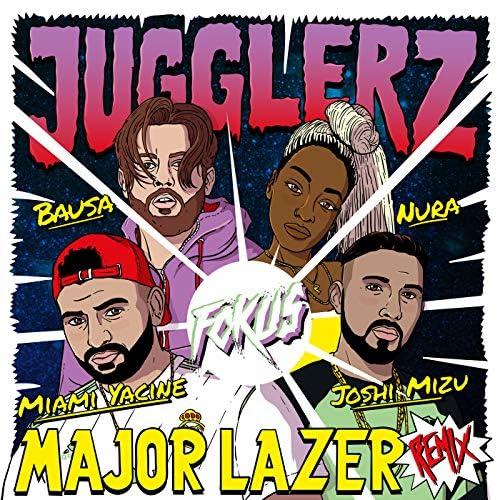Jugglerz feat. Miami Yacine, Joshi Mizu, Nura, Bausa & Major Lazer