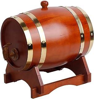 Tonneaux De Vin En Bois 3L/5L/10L/15L/20L/30L Wine Barrel Liner Oak Barrel Liquor Bière Boisson Splitter For Le Stockage D...