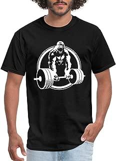 Gorilla Lifting Weightlifting Men's T-Shirt