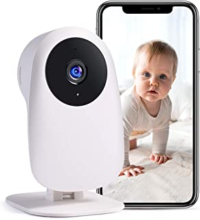 Nooie WiFi Camera Indoor Security Surveillance Camera Baby & Pet Monitor 1080P HD with Motion Detection, Super IR Night Vi...