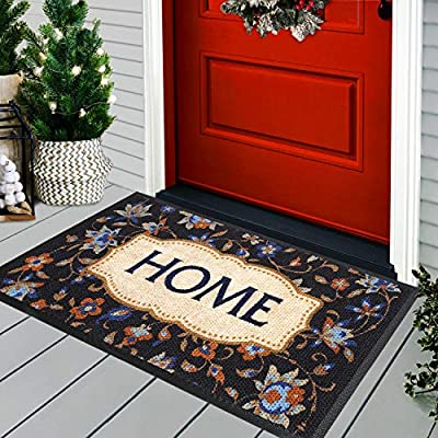 Winter Doormat - Indoor Door Mat - Absorbent Door Mats for Home Entrance - Welcome Mats for Front Door - Doormat - 30x18 Indoor Outdoor Rug - Entry Rug - Front Door Mat Outdoor