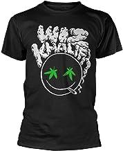 Wiz Khalifa Smoking Face Rolling Papers 2 Rap Official tee T-Shirt Mens