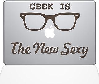 "The Decal Guru Geek is the New Sexy MacBook Decal Vinyl Sticker  - 15"" Macbook Pro (2016 & newer) - Brown (1066-MAC-15X-BRO)"