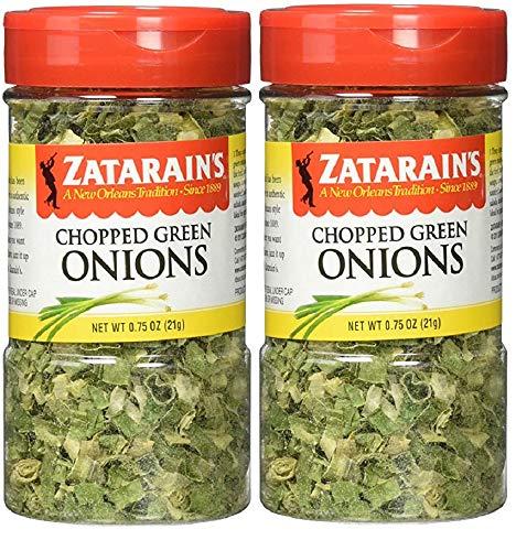 Zatarain's Dehydrated Chopped Green Onions, 0.75 Ounces (Pack of 2)