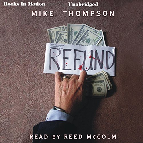 Refund audiobook cover art