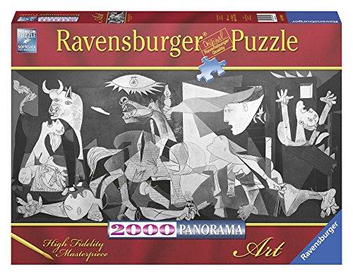 Ravensburger- Obras de Arte Puzzle 2000 Panorama Piezas Guernica, Multicolor (16690)