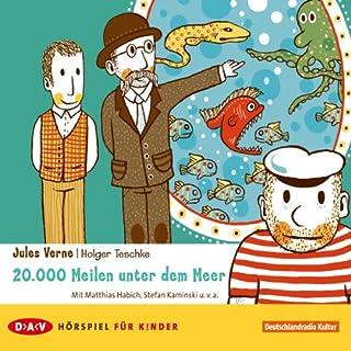 20.000 Meilen unter dem Meer     Ein Hörspiel für Kinder              Autor:                                                                                                                                 Jules Verne                               Sprecher:                                                                                                                                 Matthias Habich,                                                                                        Stefan Kaminski                      Spieldauer: 44 Min.     13 Bewertungen     Gesamt 3,8