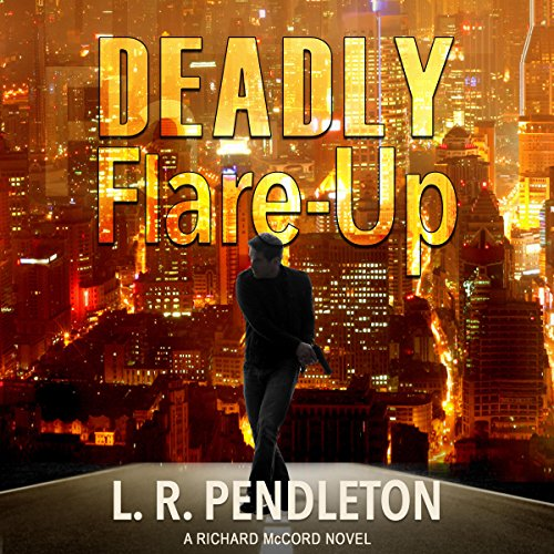 Deadly Flare-Up audiobook cover art