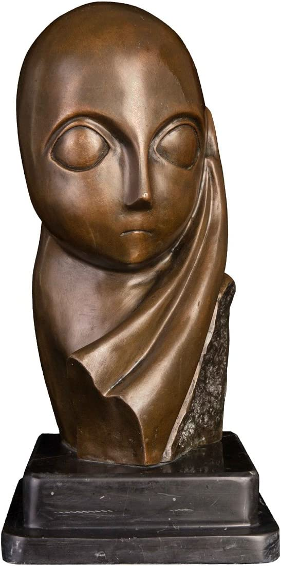 Famous Mlle·Pogany Bust Statue by 日本正規代理店品 Replica 40%OFFの激安セール Constantin Br Brancusi