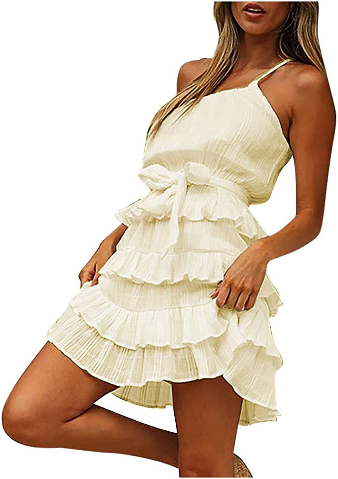 Hochzeit Brautjungfernkleid One Shoulder Sommerkleid Bandeau Sexy Kleider Kurz Minikleid Prinzessin Bow Ruschen Elegant Abendkleid Kurze Damen Knielang Party Cocktailkleid Kleid Schwarz Beige Amazon De Bekleidung