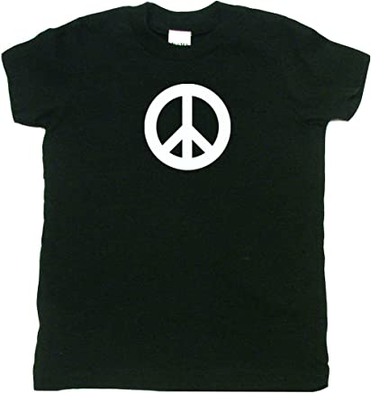 bcddd50af0229 Peace Sign Hippie Toddler Clothes Cool Boy Or Girl T-Shirts  Cool Baby Gift