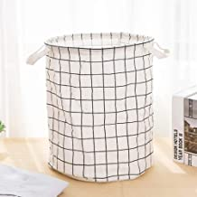 Bathroom Folding Laundry Basket Round Storage Bin Bag Large Hamper Collapsible Clothes Toy Container Organizer Large Capacity