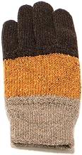 イチーナ【3色切替ウール混手袋】香川の手袋 日本製 吸湿発熱素材(メンズ・フリーサイズ)