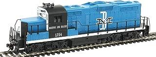 Walthers Trainline HO Scale Model EMD GP9M Standard DC Boston & Maine #1754 Train, Blue/Black/White