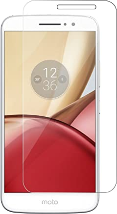 KEVAY ™ Tempered Glass Screen Protector for Motorola Moto M with Installation Kit