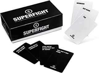 Superfight : Card Game of Absurd Arguments | Fun Family Friendly, Party Game of Super Powers and Super Problems