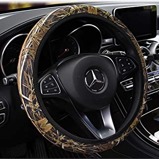 """Rayauto Standard 15"""" 38cm Stretchy Camo Neoprene Car Steering Wheel Cover Against Cold and Heat"""