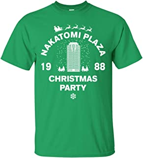 Nakatomi Plaza Christmas Party 1988 Pop Culture Tee