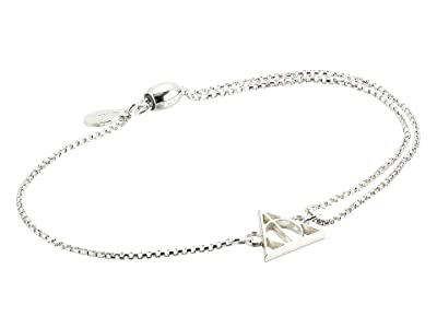 Alex and Ani Harry Potter Deathly Hallows Pull Chain Bracelet (Sterling Silver) Bracelet