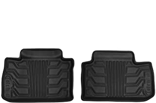 Lund 383032-B Catch-It Vinyl Black Rear Seat Floor Mat - Set of 2
