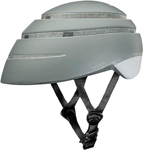 Closca Casco de Bicicleta para Adulto, Plegable Helmet Loop ...