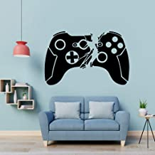 Holly LifePro Gamer Wall Decal Poster Lettering Wall Stickers Murals for Boys Bedroom Playroom Art Design Stickers Wall for Home Playroom,Style Two