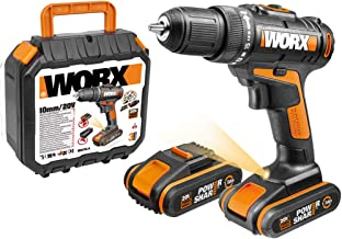 Worx WX101.1 - Taladro Atornillador 20V 1.5Ah 2bat