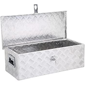 Diamond Plated Silver Lund//Tradesman 5140 30-Inch Aluminum Handheld Tool Box
