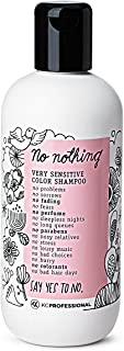 Sponsored Ad - No Nothing Very Sensitive Color Shampoo - 100% Vegan, Hypoallergenic, Fragrance Free, Paraben Free – 10.15 oz