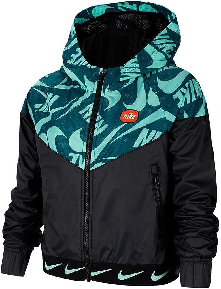 Nike Youth Girls Windrunner Jacket Athletic Hoodie