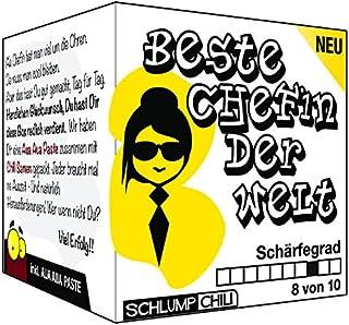 Schlump-ChiliChefin Geschenk SetDie beste Chefin der Welt - ein witziges Präsent für Frauen 1 Stk.