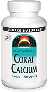 Source Naturals Coral Calcium 600mg, 240 Tablets