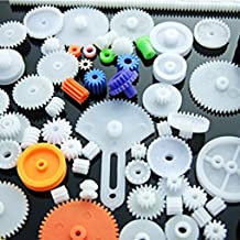 55/60/75/78/80/ Kinds Plastic Shaft Single Double Layer Crown Worm Gears Cog Wheels for Robot DIY Necessary-NO.2