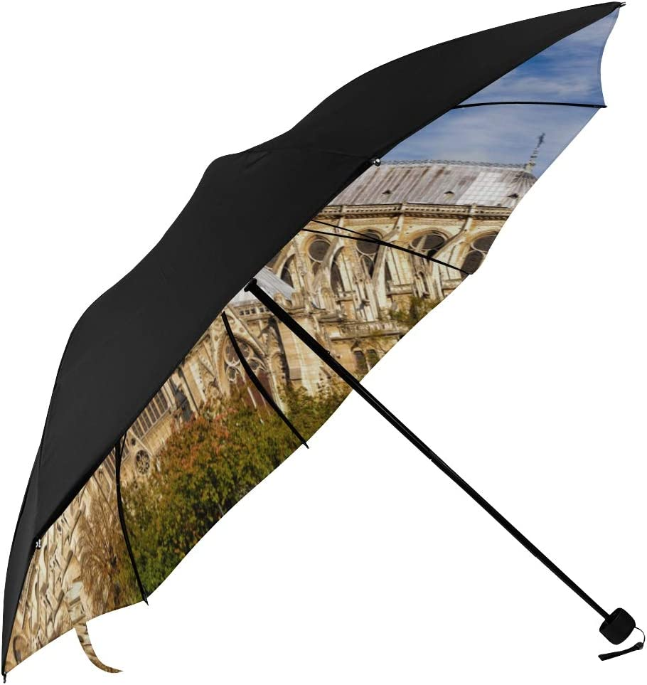Compact Mail order Kids Umbrella Vintage Style Undersid Paris Dame Brand new De Notre