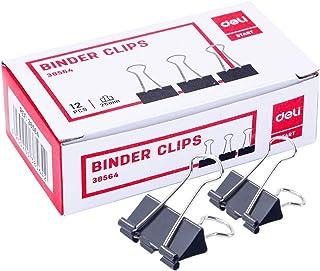 Deli 25 mm Binder Clip Box