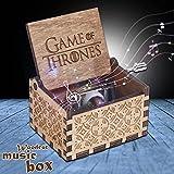 Slibrat Caja de música de JUEGO DE TRONOS Caja de música de madera...