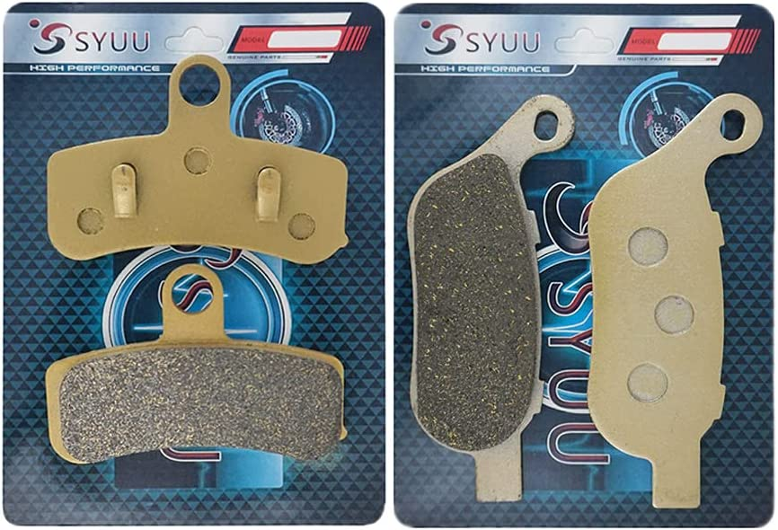 2021 new SYUU Motorcycle Aftermarket part Front Pads fo 35% OFF Brakes Brake Rear