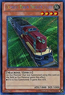 Yu-Gi-Oh! - Express Train Trolley Olley (DRLG-EN037) - Dragons of Legend - 1st Edition - Secret Rare