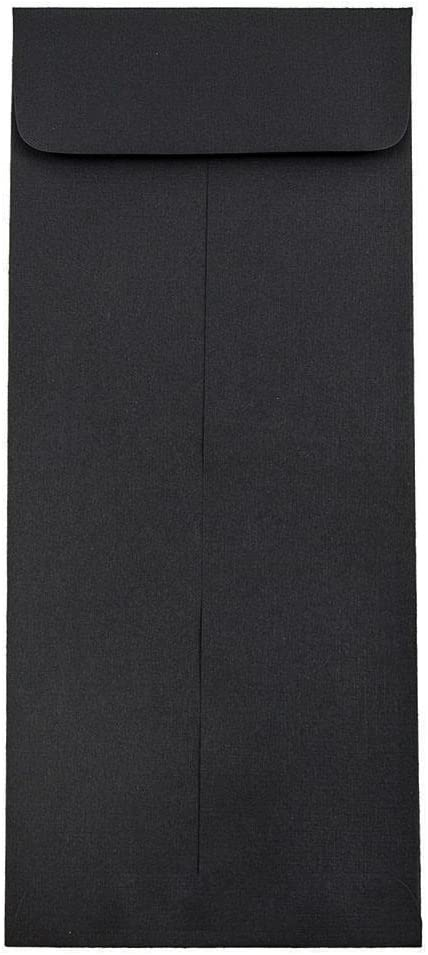 JAM PAPER #11 Policy Business Great interest Envelopes - 4 2 Luxury 3 x 10 Black 8 1